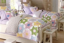 Beds with Quilts& quilts @ home