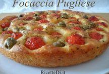 Pizze e focaccia