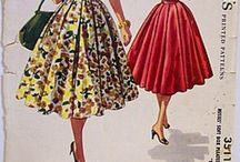 50's clothing pattern / sewing patterns