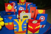 brinkleys superhero birthday / by Denna Wallace