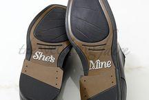 Shoe Art / Stickers / Decals / http://www.weddingfaire.com.au/shoe-art/
