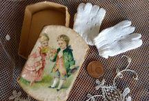 Antikke dukker og dukkehuse