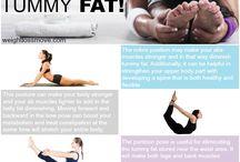 Yoga platte buik oefeningen