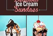 Ice Cream Bar / Everything for ice cream combinations to create a fabulous sundae to decorations!