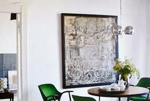 Decorating with Green / by Andrea Cammarata