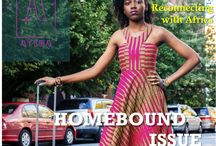 Homebound Issue / This issue explores the emotions that arise in rediscovering home and re-strengthening your roots. issues.ayibamagazine.com/homebound-issue/