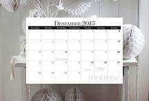 2015 Calendar / by rooi rose Tydskrif