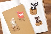 Foxy Friends / Handmade cards and projects made with the Foxy Friends stamp set and Fox Builder Punch from Stampin' Up!
