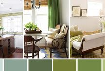 Interior Color | Green / by Kate | Sensational Color