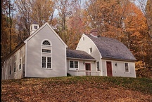 New England Homes, Inspiring Architecture / Shapes, Layouts, Design and Architecture of Houses and Homes With Inspiring Charming