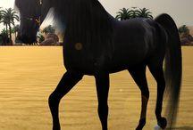 Sims horses
