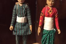 Nepalese Dolls / Dolls of Nepal and The Himalayas