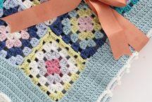 knitting blanket - battaniye