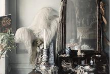 plume en décoration