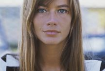 Francoise Hardy / Dedicated to the iconic French ingenue and cool gamine girl, Francoise Hardy.