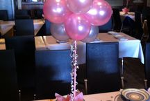 Air Filled Balloon Table Centres