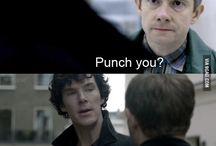Sherlock & All dat Cumberbatch stuff