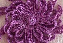 Декоративные украшения вязаные крючком / Вязание крючком