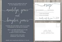 wedding invitations / by Vera Ulloa