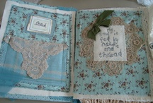 Quilters book. / Book pages that I love.