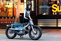 自転車 バイク系スナップ