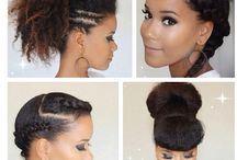Natural hair styles/products/tips