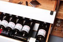 Vin de Garde & Jeff Martin Joinery Modern Wine Credenza