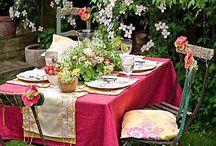 Mesas vestidas