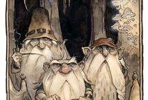 nisse & trollen and friends / het kleine volkje / by Marijke Steenbruggen