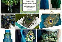 matrimonio verde-blu