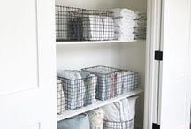 Walk in Linen closet - Organising