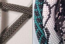 collier perles crochet