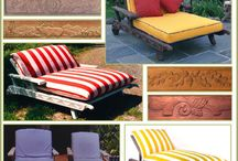 Chaise Lounges From Reed Bros. / Chaise Lounges