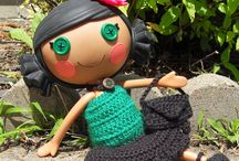 Crochet doll clothing