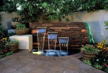 Water Features We Love / We can imagine Frontera's Outdoor Furniture in the images we choose for this board. Who doesn't appreciate a beautiful water feature, fountain, or pond?  / by Frontera Furniture