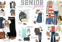 Senior Girls What to Wear 2017 / Ideas and inspiration for senior picture outfits- class of 2017!