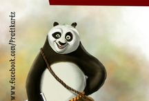 THE BIG FAT PANDA / Art work inspired by #KungFuPanda