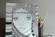 Dibujos + Zentagle