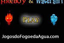 Jogos de Agua e Fogo / Fogo e Água é um divertido jogo para dois jogadores. Ajuda Fogo e Água encontrar a saída através da floresta templo. Fireboy deve evitar a água e Água deve evitar a lava quente. http://www.jogosfogoagua.com