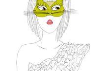 The masks we wear / by Laura Fortner