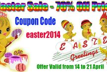 Easter SALE 2014
