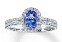 Tanzanite Jewelry / Tanzanite is used as a Gemstone to showcase the beauty of rings, earrings and necklaces  .