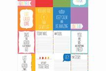 Karty do journalingu