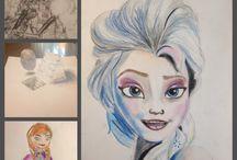 Joep-Art / Proud of my 12 year old Son! My little talented artist!