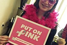 Pink for a Cause / For every patient that puts on pink and posts a picture on Facebook, Dr. Lineberry is donating $1 to breast cancer research!