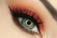 Make-up // hazel eyes
