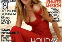 Jennifer Aniston Magazine covers