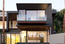 Modern houses / by Kathy Cooper