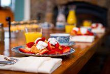 Breakfasts / Each visit to Zion Springs includes a lovely breakfast served at 9 am.