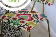 Upholstery and Sewing / Tips and how-to reupholster chairs, sofas, benches and Sewing Tips